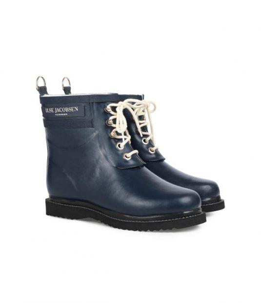 Ilse Jacobsen Rub2 Short Laced Rubber Boots