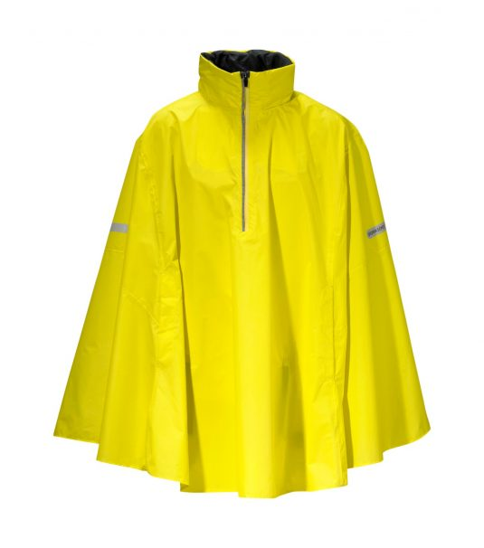 Didriksons Wheely Waterproof Cape - Yellow