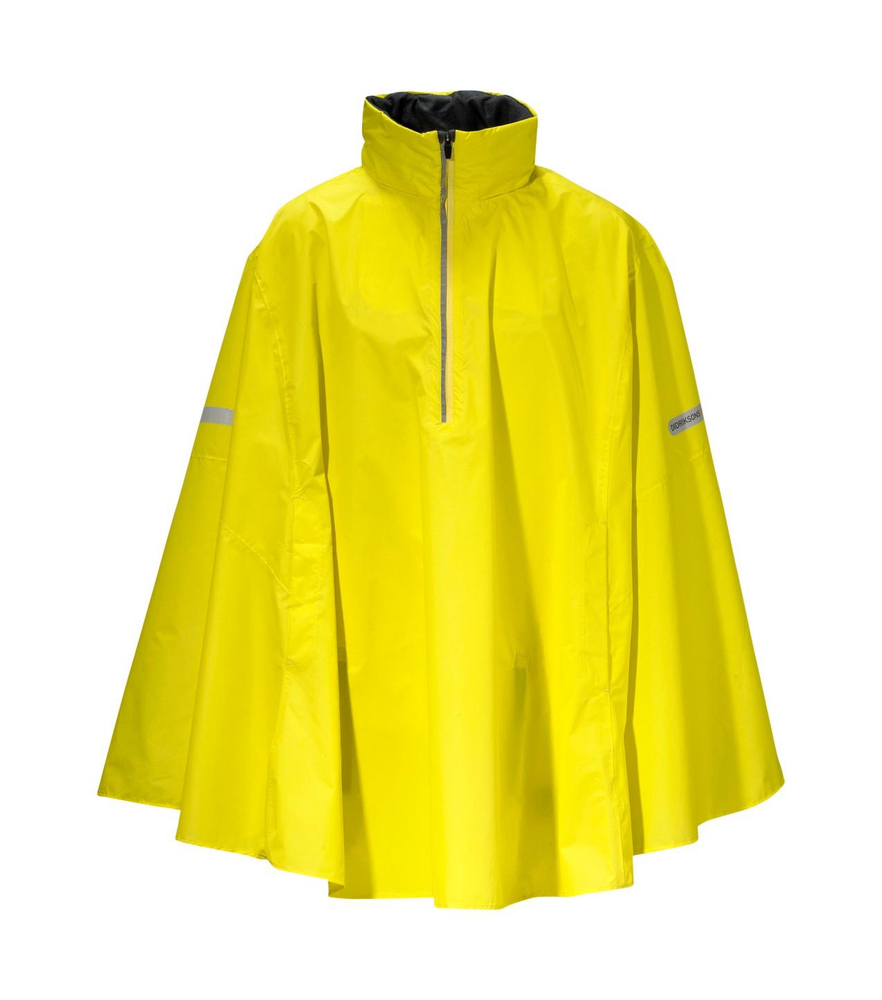 Didriksons Wheely Waterproof Cape - Yellow