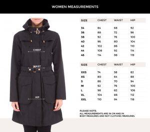 ilse-jacobsen-rain-coats-size-chart