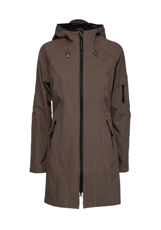 Ilse Jacobsen Soft Shell Raincoat Rain37 Dark Ash