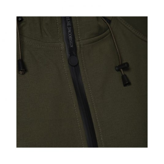 Ilse Jacobsen Soft Shell Raincoat Rain07 Army Green
