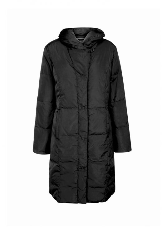 Ilse Jacobsen Warm Coat Much01 Dark Anthracite