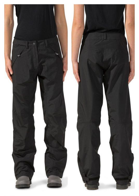 Didriksons Okuda Womens Trousers - Black