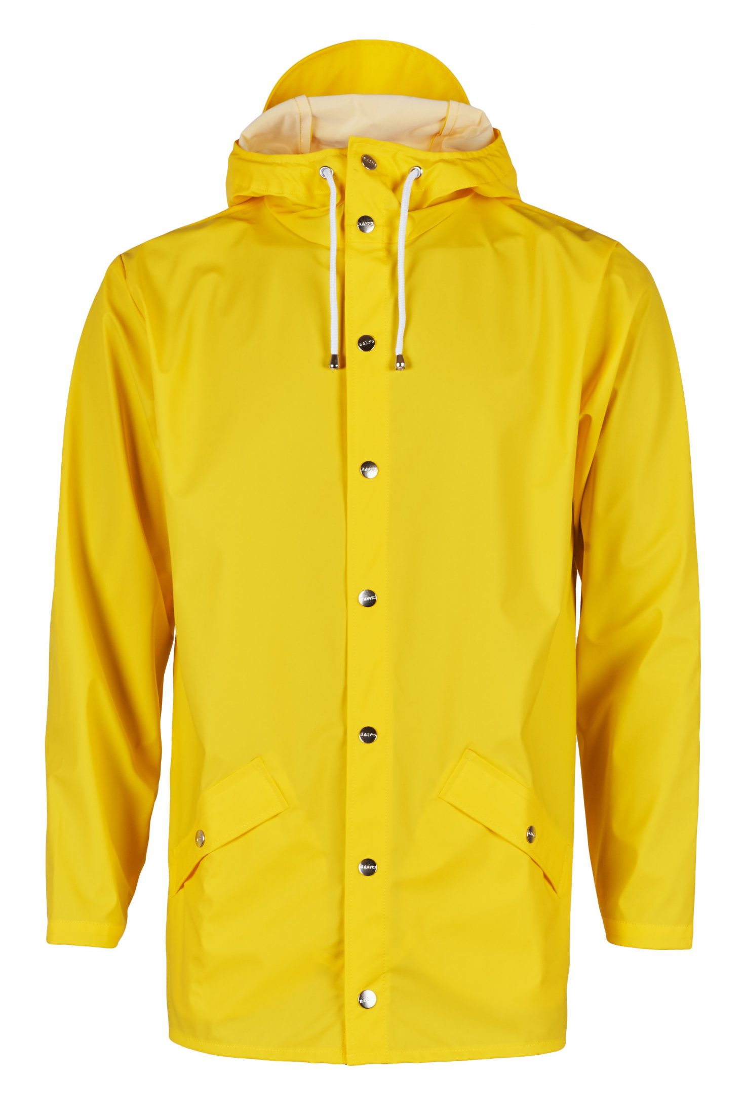 Rains Unisex Jacket - Yellow