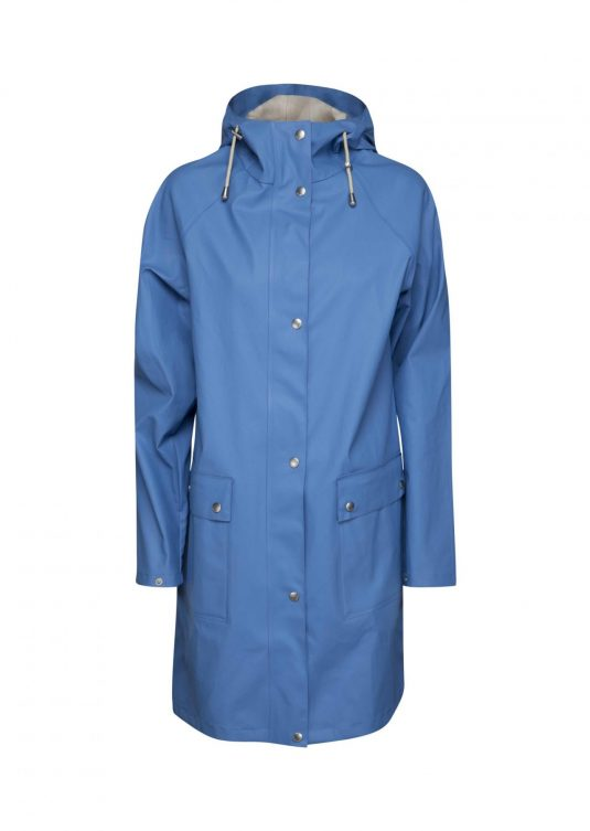 Ilse Jacobsen True Rain Raincoat - Regatta Blue