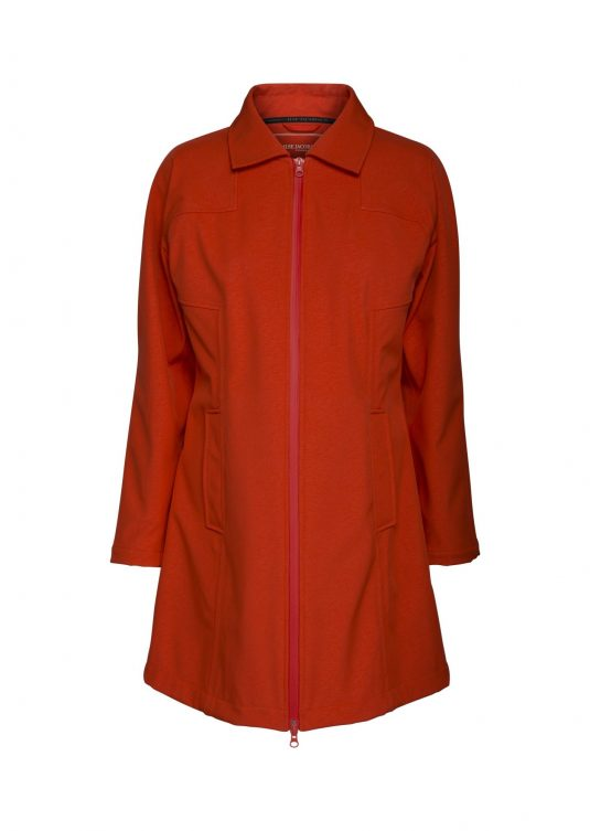 Ilse Jacobsen Soft Rain Raincoat - Warm Orange