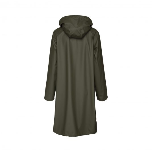 Ilse Jacobsen Light True Rain Raincoat - Army Green