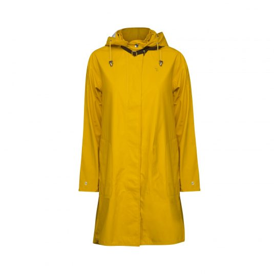Ilse Jacobsen Light True Rain Raincoat - Cyber Yellow