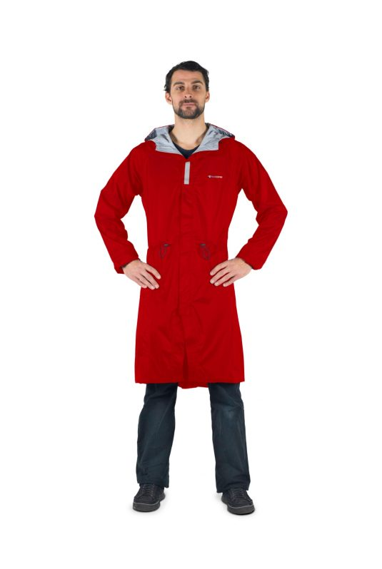 Raincombi Overall Parka - Unisex - Red