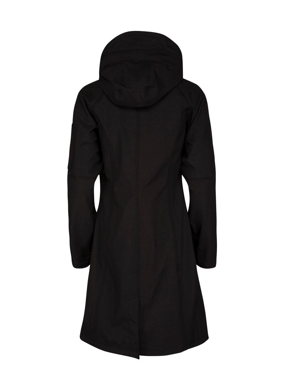 7945675f111a Ilse Jacobsen Rain37L Long Soft Shell Raincoat | Walk The Storm