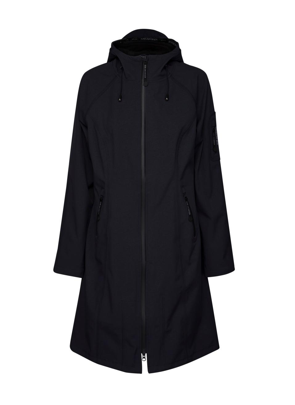 14c73afb866791 Ilse Jacobsen Rain37L Long Soft Shell Raincoat