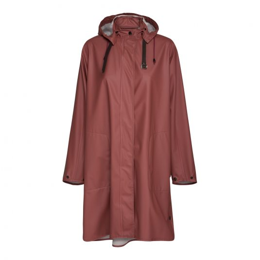 Ilse Jacobsen Light True Rain Raincoat - Marsala