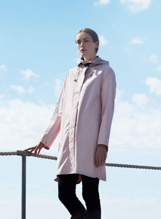 Ilse Jacobsen Light True Rain Raincoat - Peach Whip