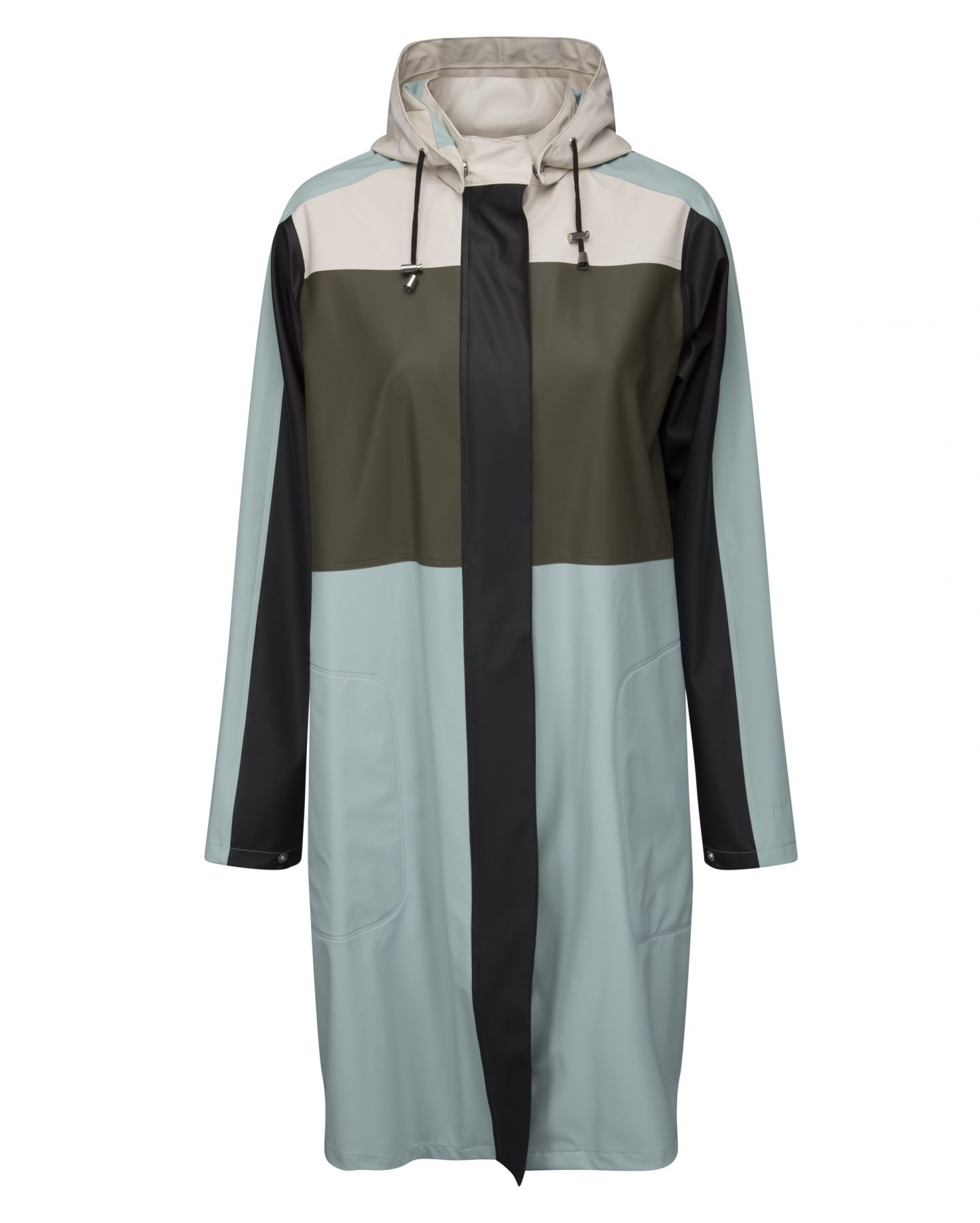 fbcf5775debe Ilse Jacobsen Rain84 Light True Rain Raincoat – Colour Blocks
