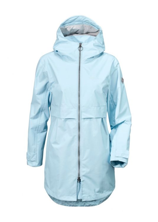 Didriksons Yola Women's Parka - Peat Green or Clear Blue