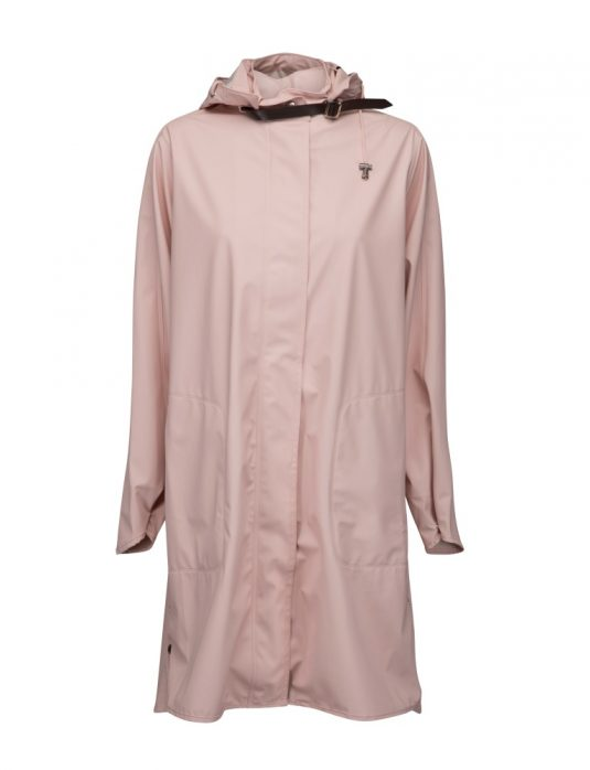 Ilse Jacobsen Light True Rain Raincoat Rain71 Adobe Rose