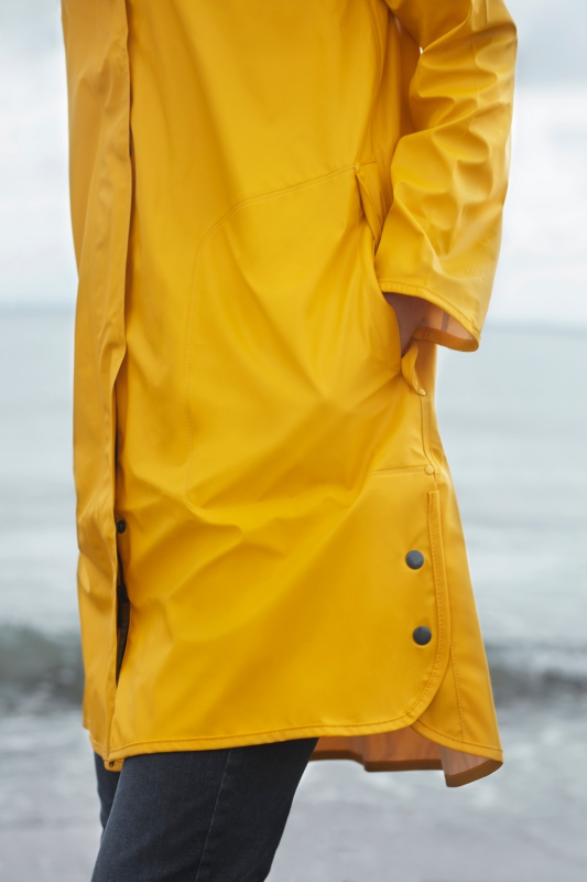 Ilse Jacobsen Light True Rain Raincoat Rain71 Golden Yellow