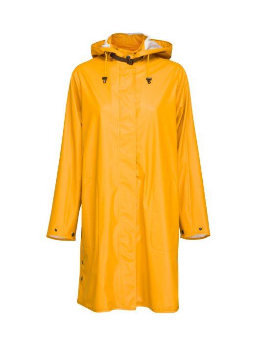 Ilse Jacobsen Rain71 Light True Rain Raincoat Golden Yellow