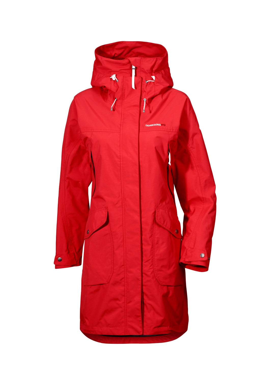 Didriksons Thelma Womens Waterproof Parka Red