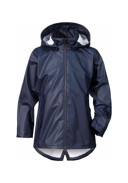 Didriksons Tia Girls Waterproof Jacket Navy
