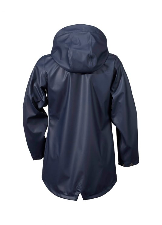 Didriksons Tia Girls Waterproof Jacket Navy 1