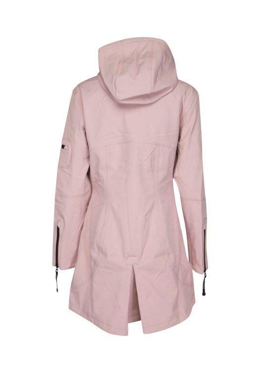 Ilse Jacobsen Soft Shell Raincoat Rain07 Adobe Rose