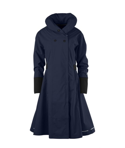 Blaest Barcelona Raincoat Navy Blue