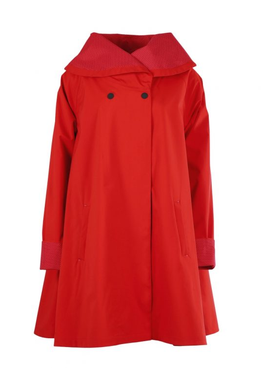 Blaest Paris Raincoat Red