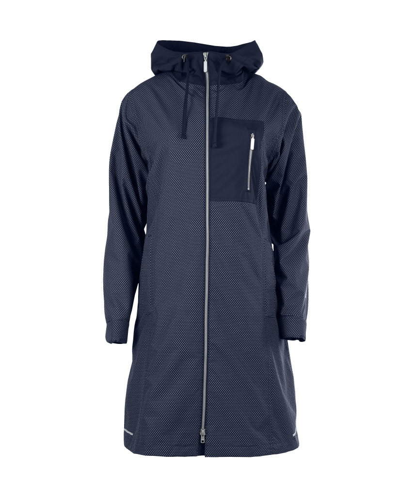 Blaest Toronto Raincoat Navy Blue