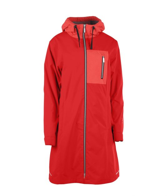 Blaest Toronto Raincoat Red