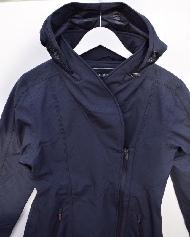 Ilse Jacobsen Soft Rain Soft Shell Raincoat Rain100 Indigo