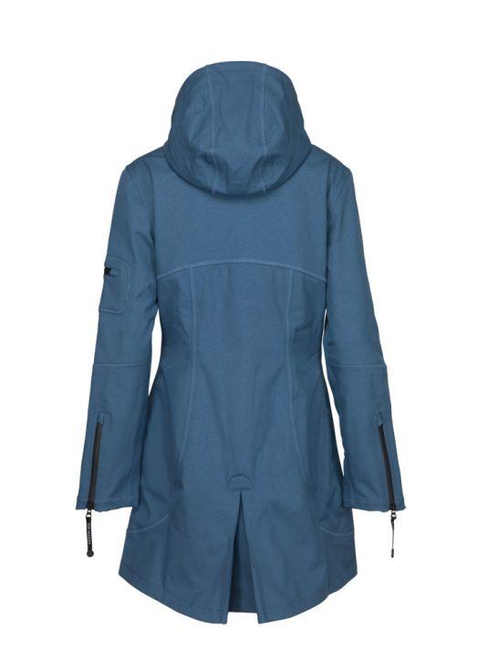 Ilse Jacobsen Rain07 Soft Shell Raincoat Blue Rock