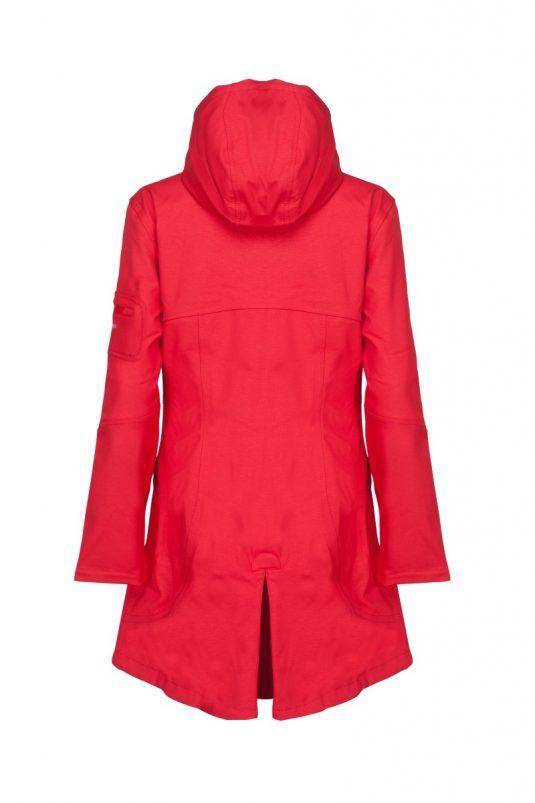 Ilse Jacobsen Rain07B Soft Shell Raincoat Deep Red 1
