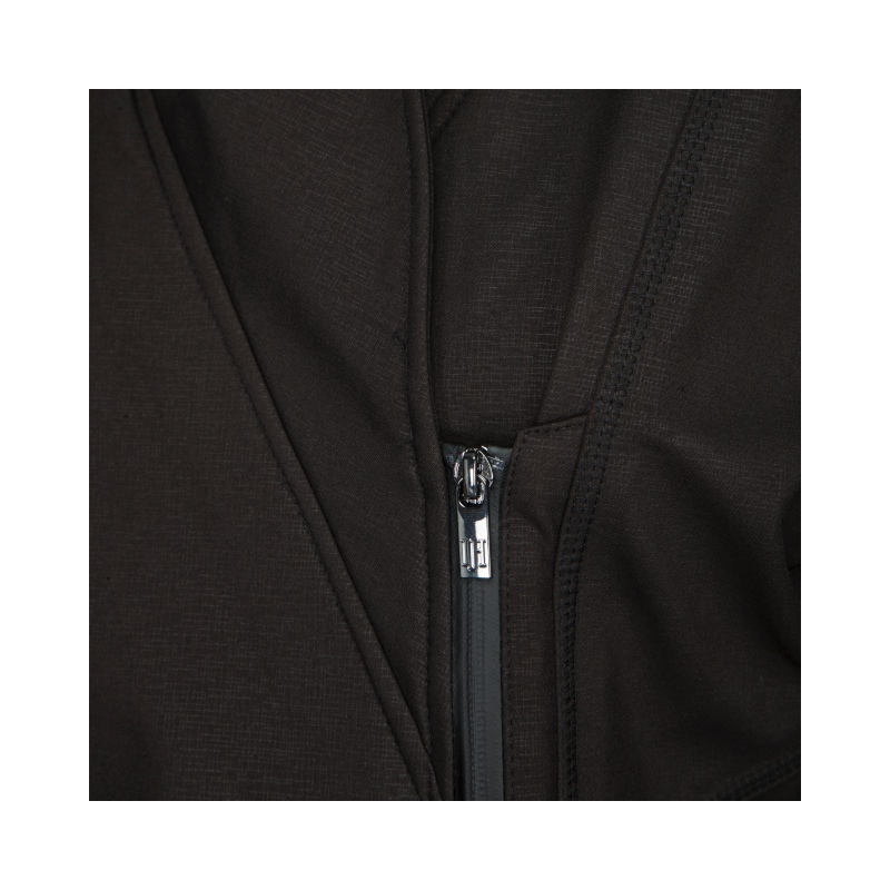 Ilse Jacobsen Rain100 Soft Shell Raincoat Black