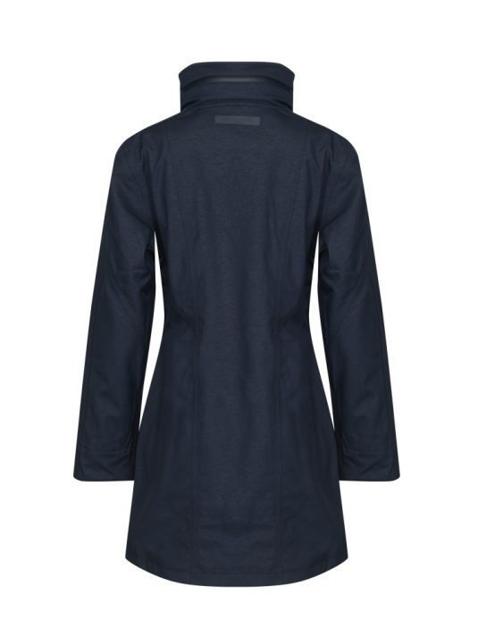 Ilse Jacobsen Rain100 Soft Shell Raincoat Dark Indigo