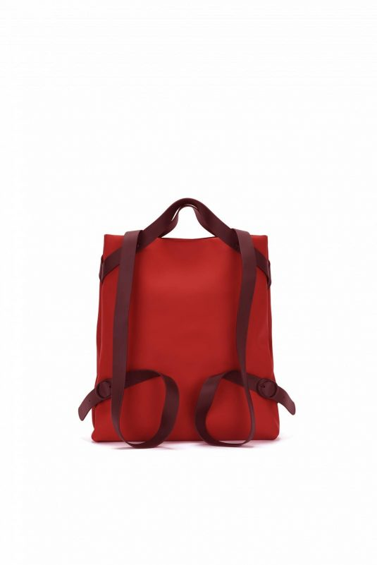 Rains Shift Bag Scarlet