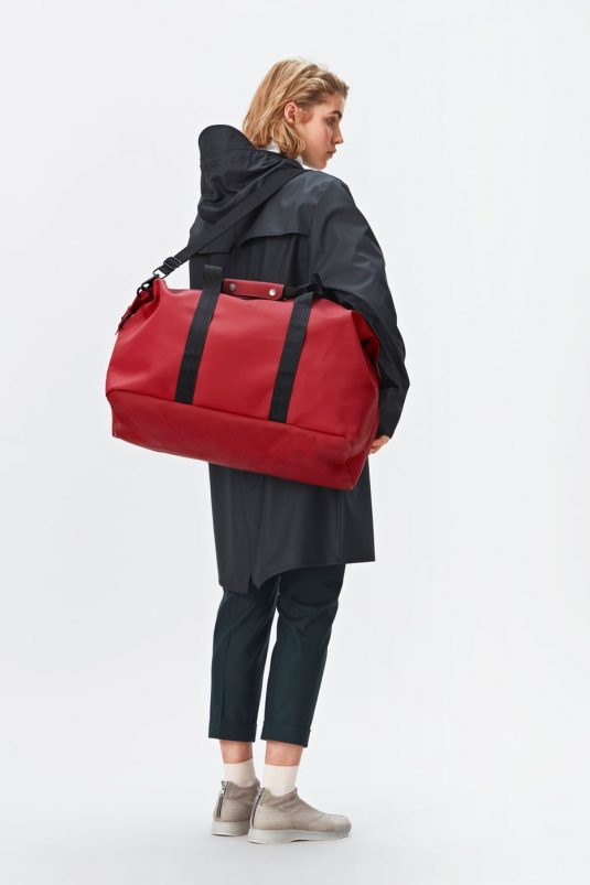 Rains Weekend Bag and Long Jacket