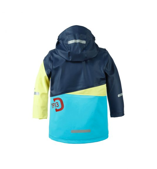Didriksons Gull Childrens Raincoat 2