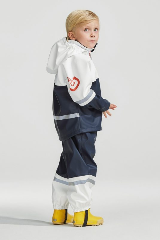 Didriksons Waterman Childrens Set Navy White