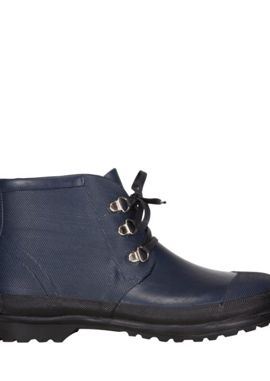 Ilse Jacobsen Rub94 Short Lace Up Boots Black 1