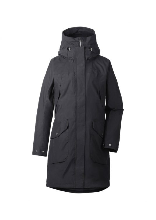 Didriksons Agnes Waterproof Parka Raincoat Navy or Green