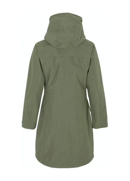 Didriksons Agnes Waterproof Parka Raincoat Navy or Green