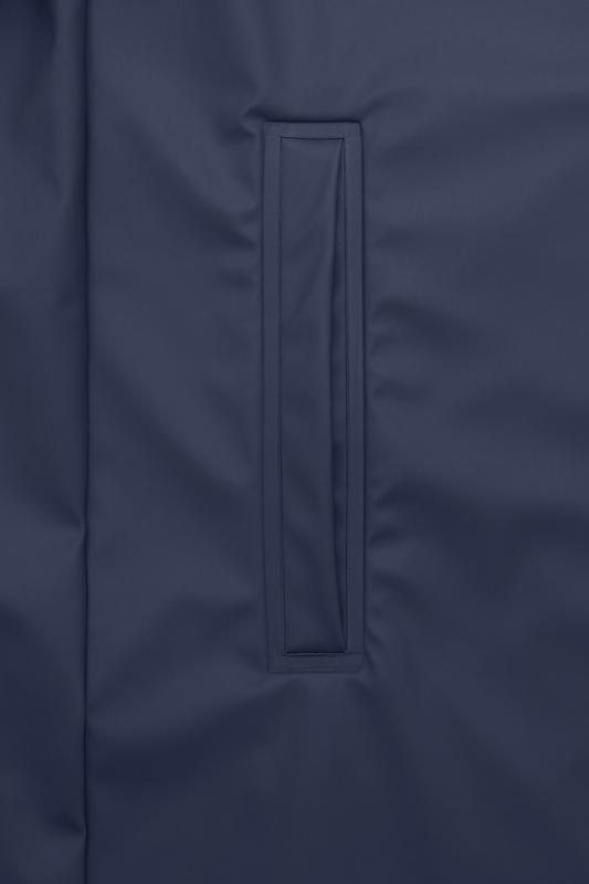 Rains Coat Blue Detail