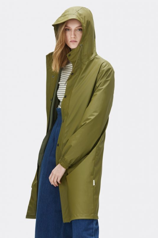 Rains Fishtail Parka Sage Model