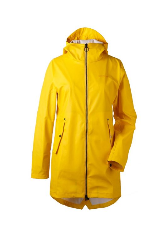 Didriksons Daisy Womens Waterproof Jacket Yellow