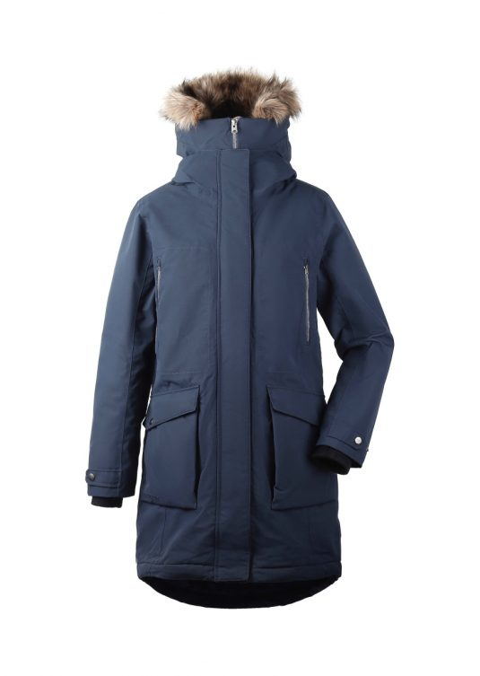 Didriksons Malou Waterproof Parka Navy Blue