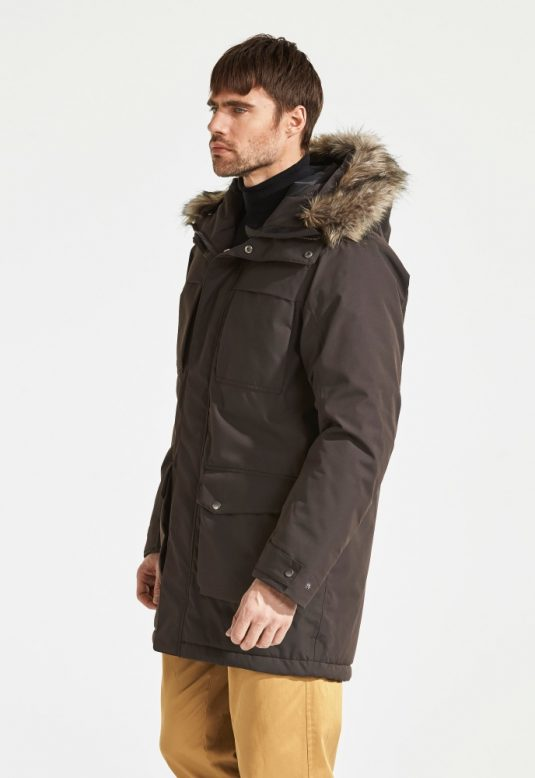 Didriksons Reidar Parka Chocolate Brown 2