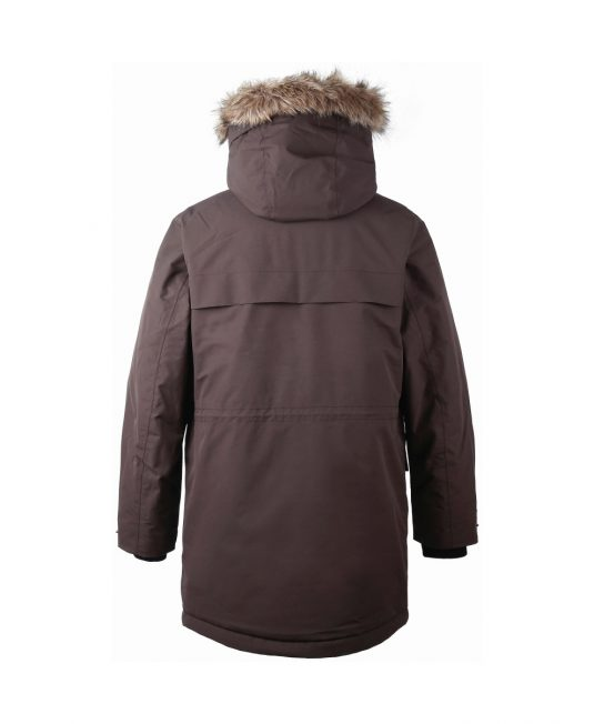 Didriksons Reidar Parka Chocolate Brown