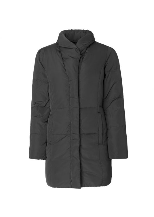 IJ Much02 Dark Anthracite Warm Winter Coat